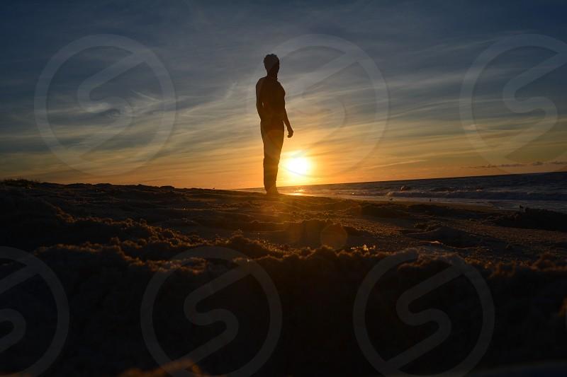 Sunrise on Long Island photo