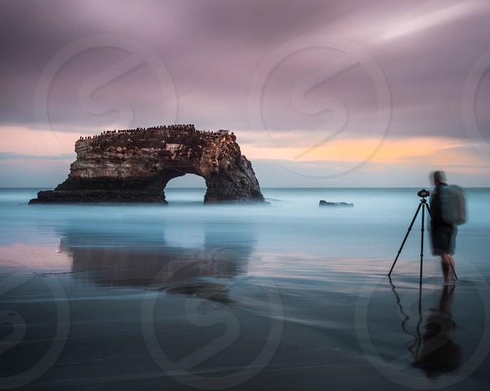 Ocean water sunset photographer long exposure photo