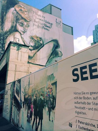 Frankfurt graffiti photo