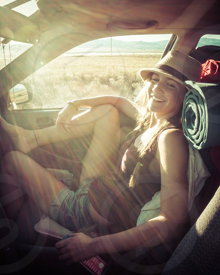 There's nothing more fun then a road trip with your best friend. photo