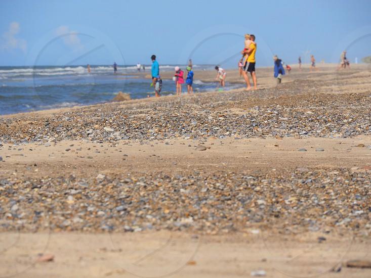The beach - late summer photo