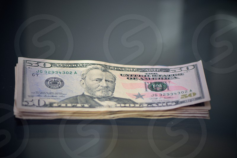 50 us dollar bill photo