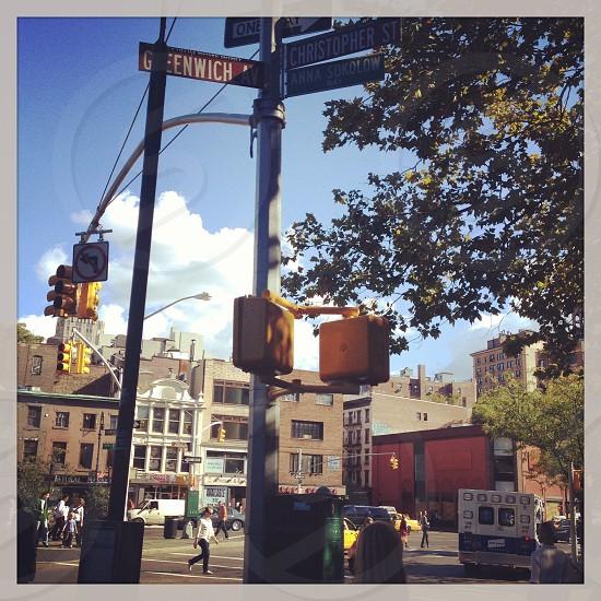 New York City street view Manhattan photo