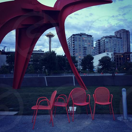 Olympic Park Sculpture Seattle Washington photo