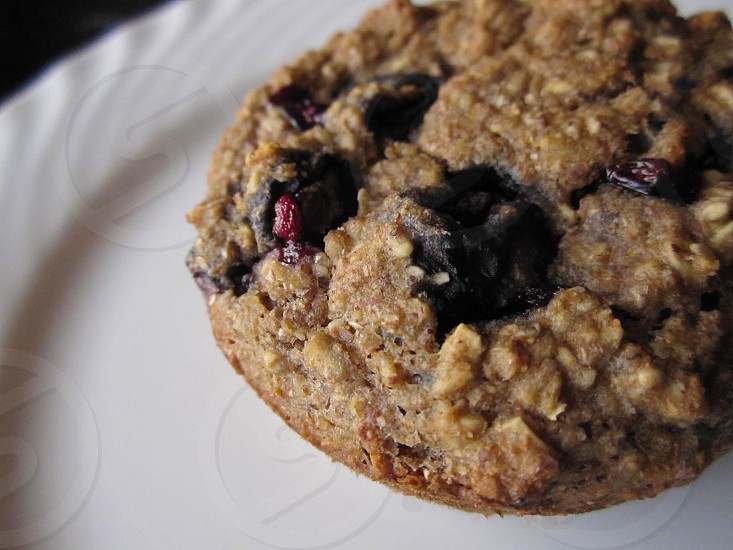 oatmeal berry  photo