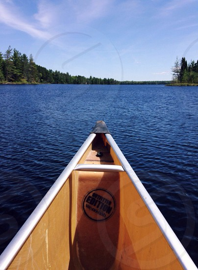 Canoeing in the Boundary Waters photo