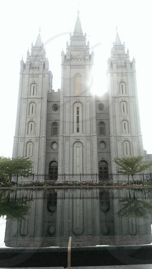 Salt Lake City LDS temple photo