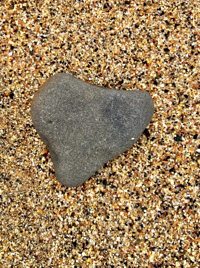 textures of sand and rock photo