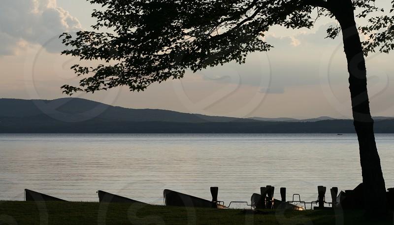 Summer on the Lake  (Lake Sebago Maine) photo