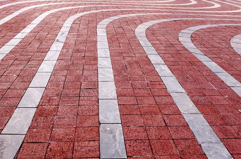 Leading Lines Side walk photo