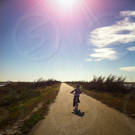 children's bicycle  photo