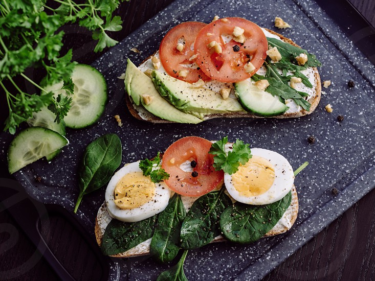 Healthy Sandwiches for snacking photo