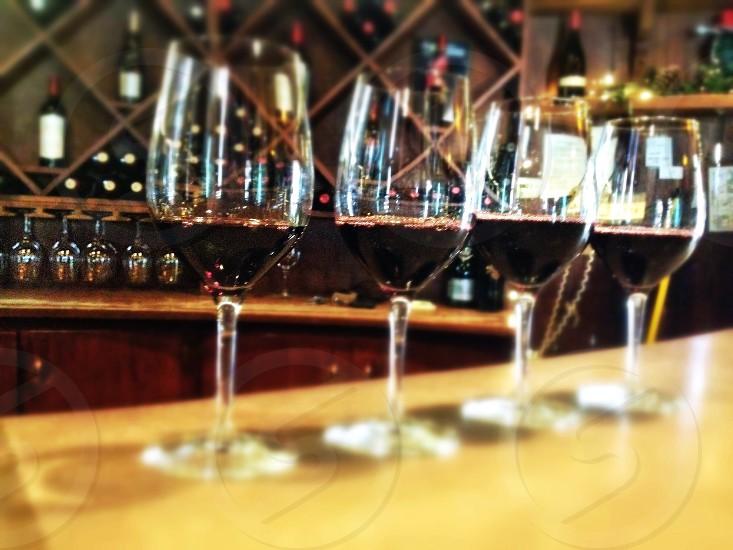 Wine pouring photo