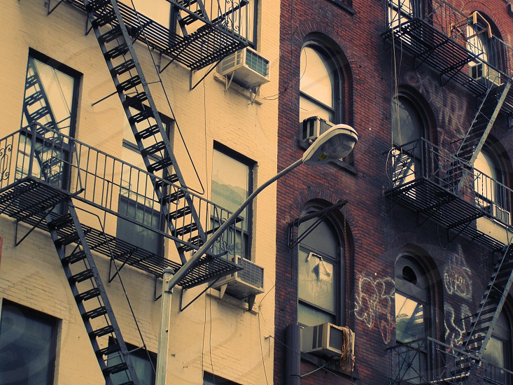 New York facade Street Light photo