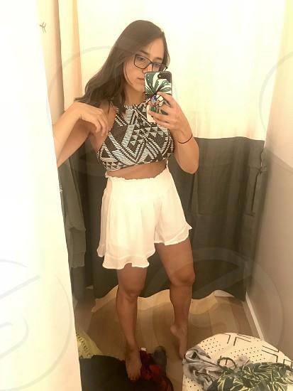 Dressing room aerie shopping photo
