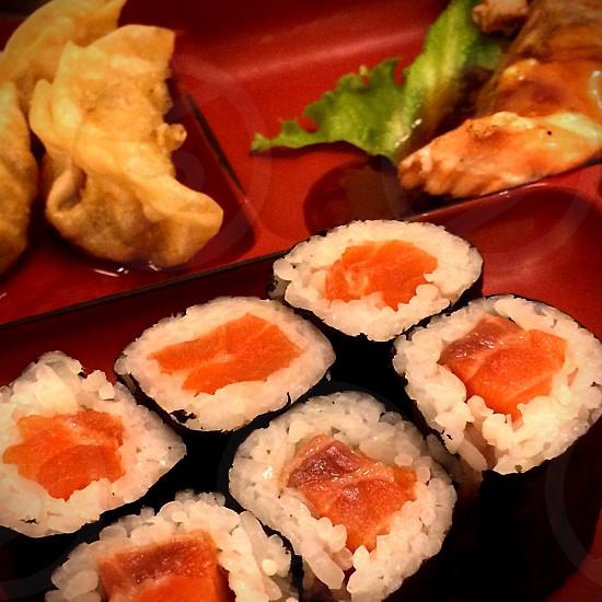 sushi food photo