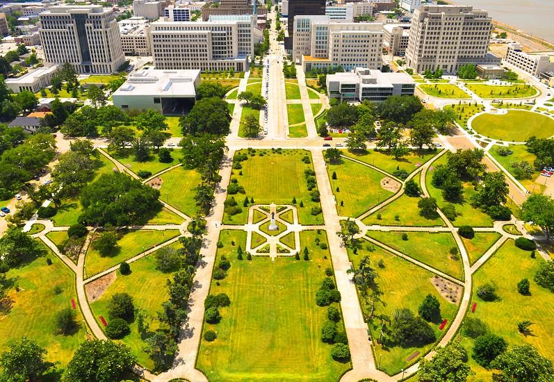 Atop the Baton Rouge Louisiana state capital building photo