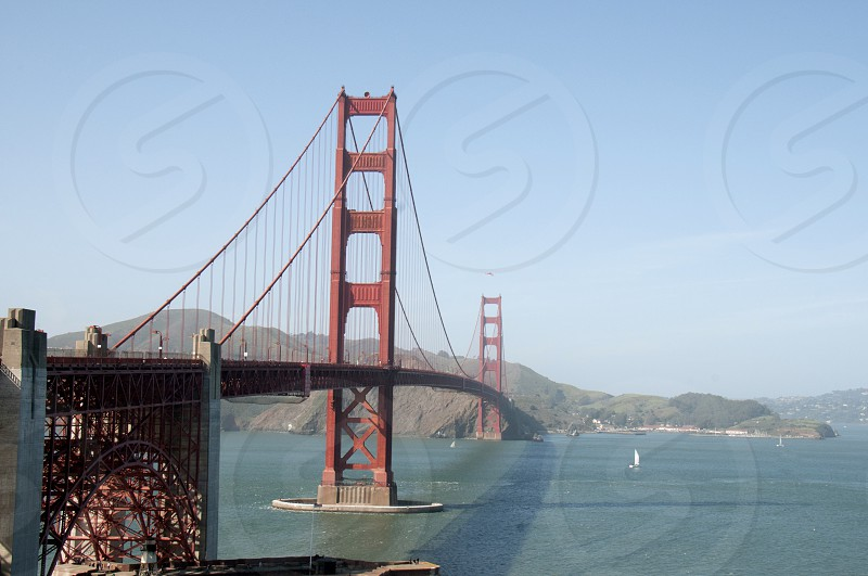Golden Gate Bridge in San Francisco California photo