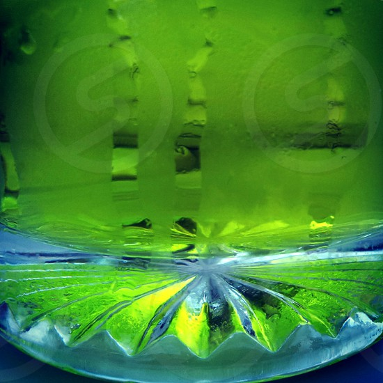 abstract beverage green cold photo