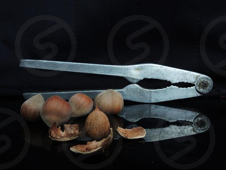 stainless steel nut opener photo