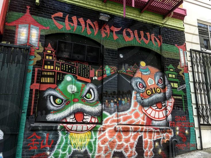 Chinatown San Francisco USA  photo
