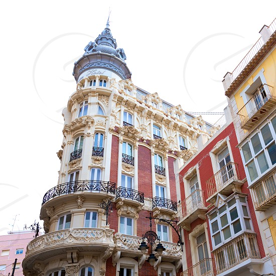 Cartagena the Grand Gran Hotel Art Noveau architecture in Murcia Spain photo