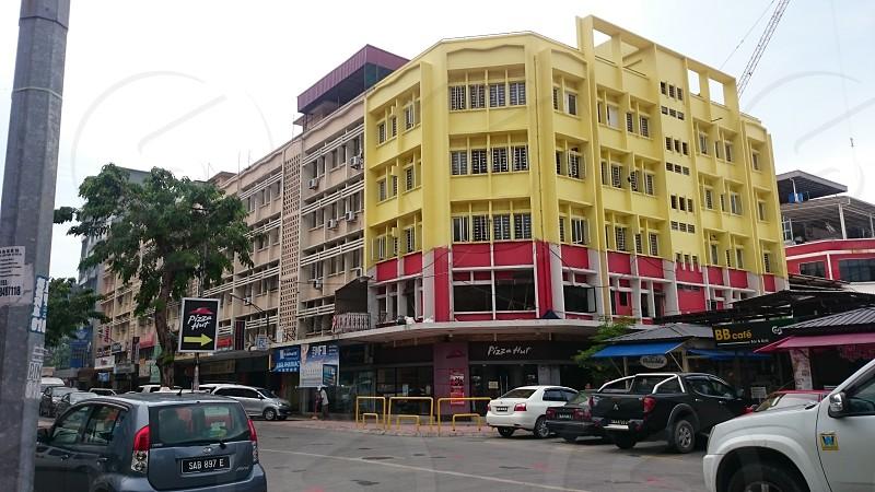 one of the post war old building in Kota Kinabalu Sabah photo