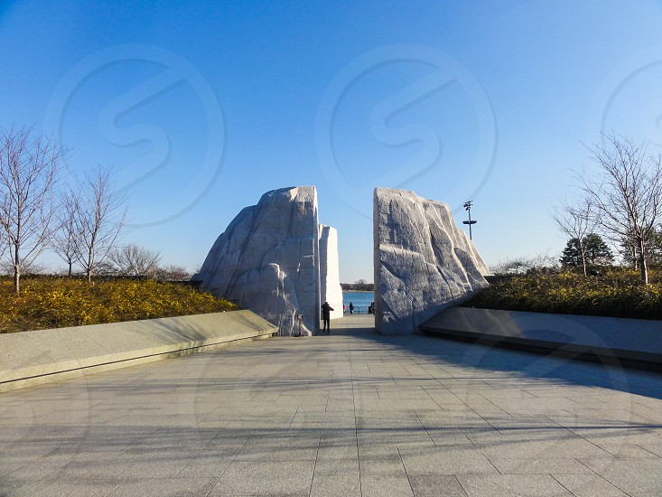 Martin Luther King Jr. Memorial - Washington DC USA photo