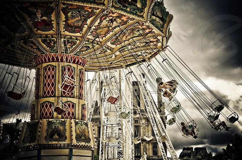 Carousel in Paris (France) photo
