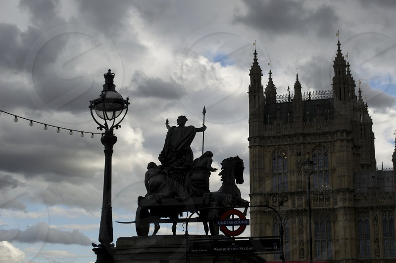 Statute of Queen Boudicca London UK @heatherbodkin photo