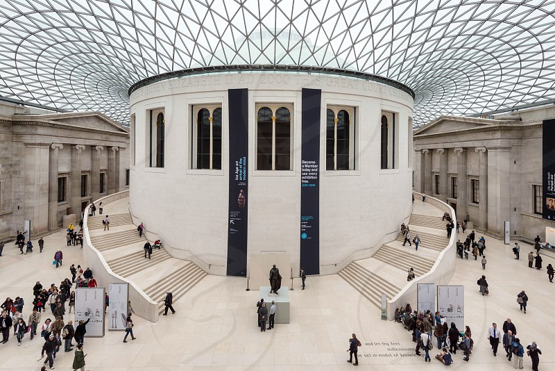 The Great Court at the British Museum photo