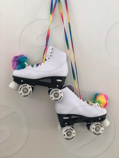 Roller skating  photo