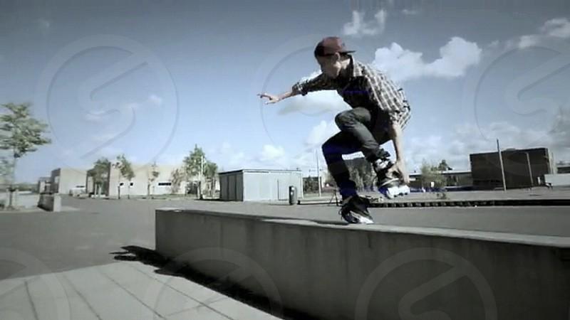 skate jump photo