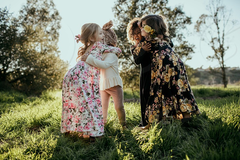 Friends toddlers love photo