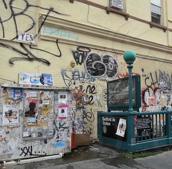 Bedford Ave Station Williamsburg Brooklyn photo