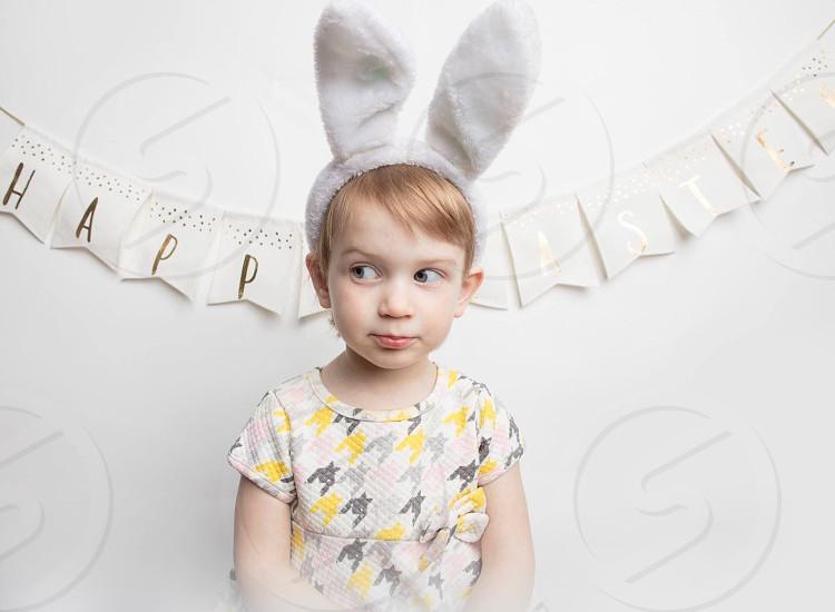 Easter girl dress photo