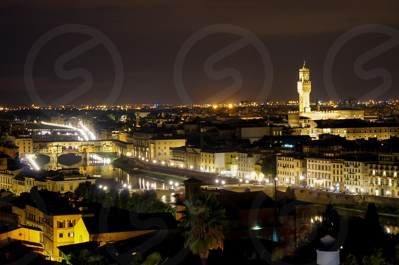 Florence by night. Italy  photo