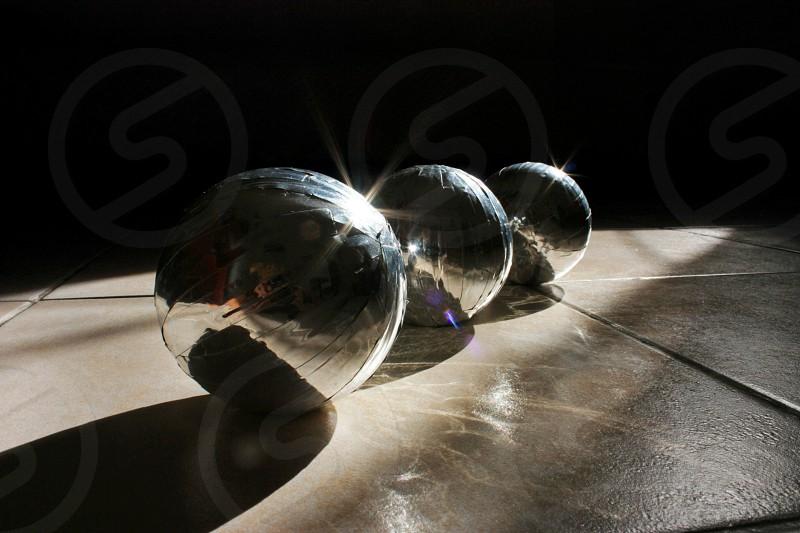 balls on the floor photo