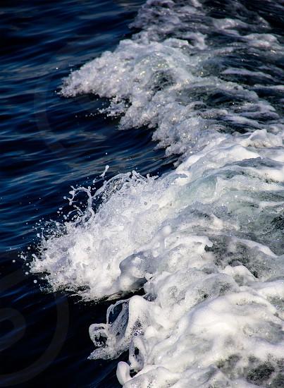Atlantic Ocean waves boating  photo