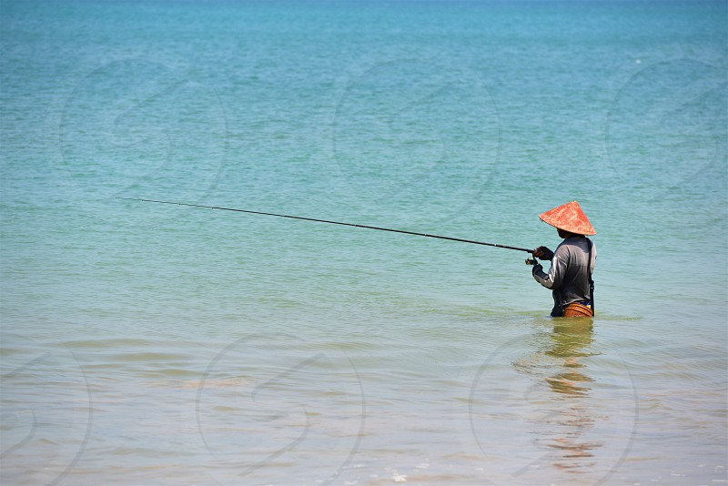 Fishing in Bali photo