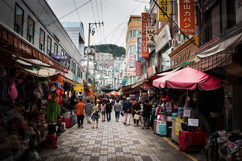 Busan market place. South Korea. photo