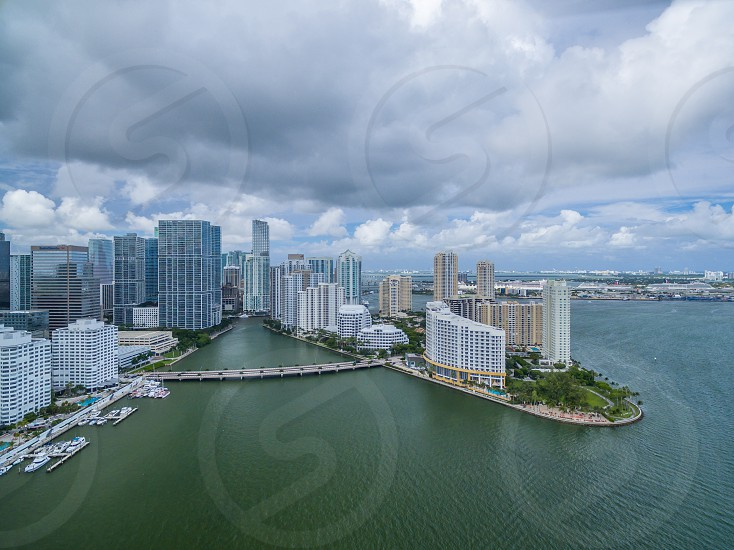 Miami from above photo