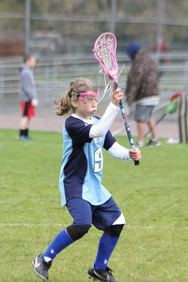 Youth Lacrosse Girl photo