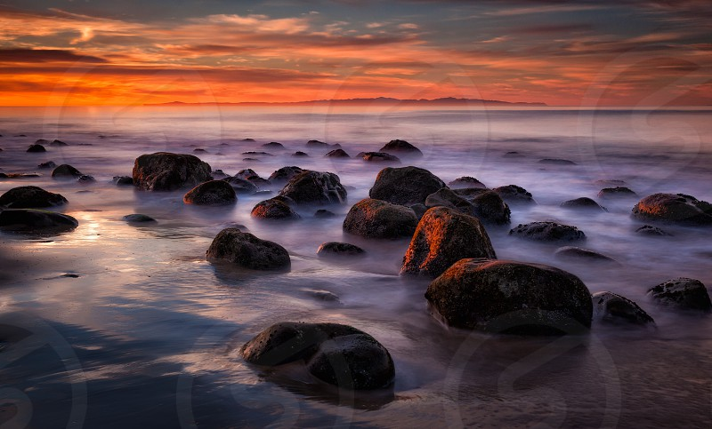 Sunrise in Santa Barbara California photo
