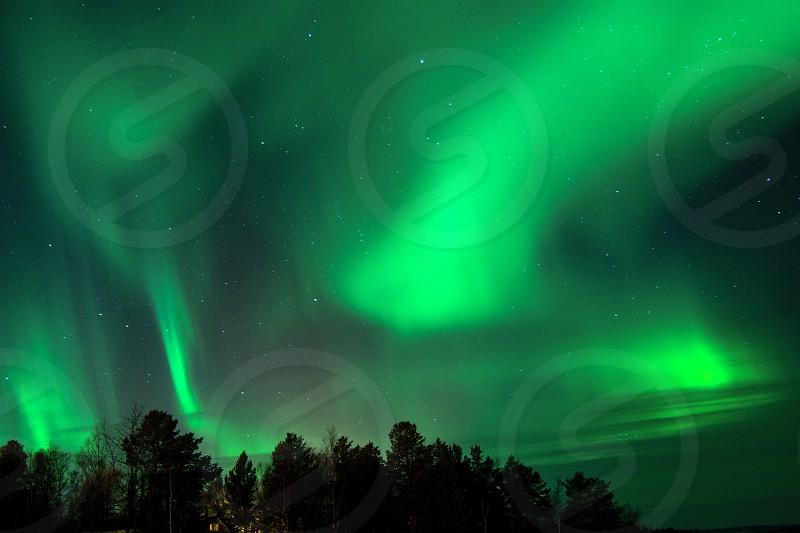Aurora borealis photo photo
