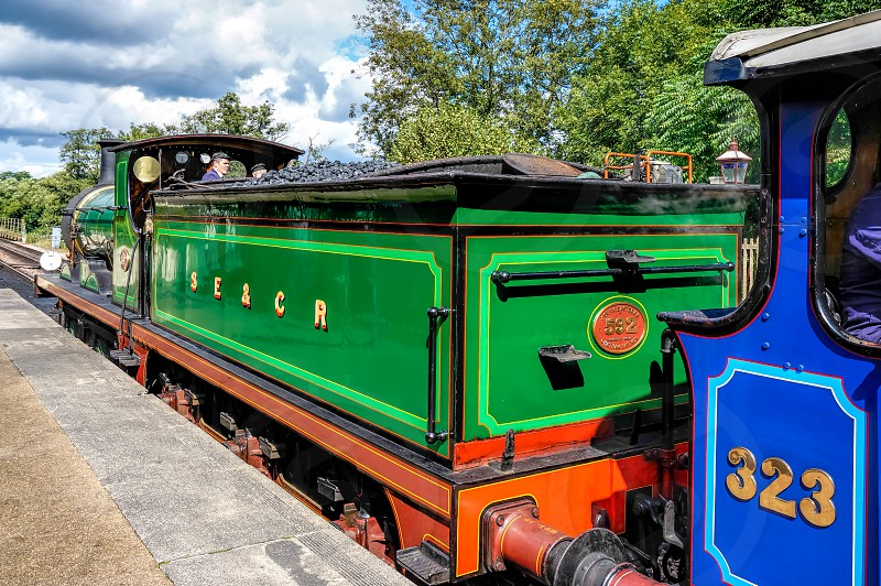 C Class Steam Engine at Sheffield Park Station photo