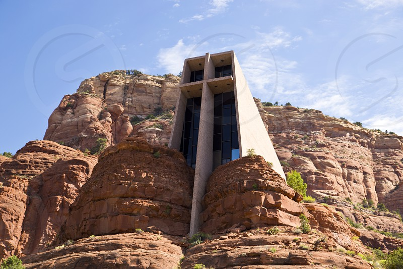 chapel holy cross Sedona architecture red rock church photo
