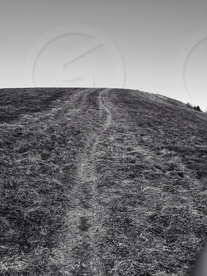 mountain black and white photography  photo