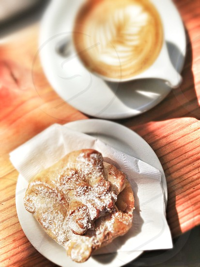 Pastry and coffee at Verve photo
