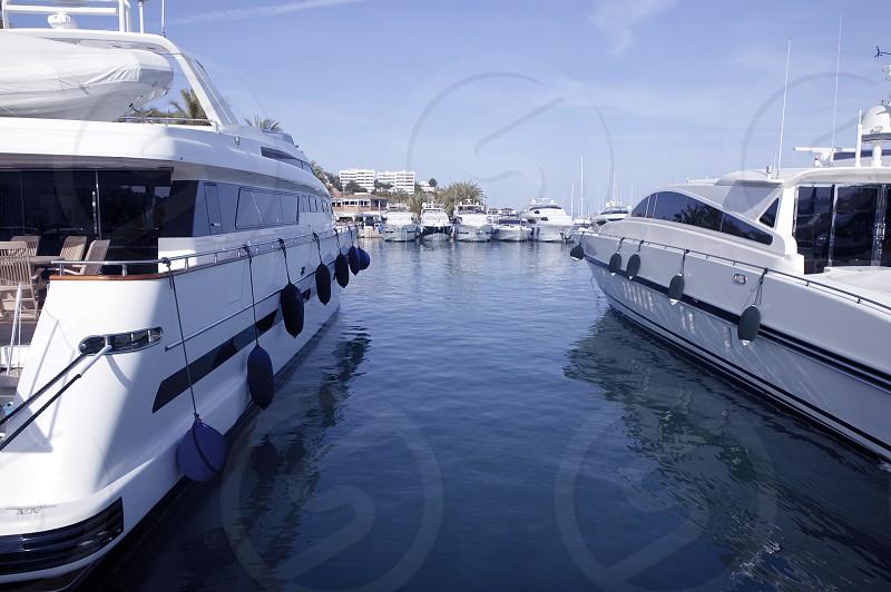 Mallorca Puerto Portals port marina yachts in Spain photo